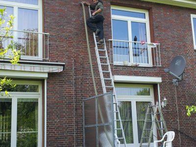 Einblasverfahren Gebäudedecke